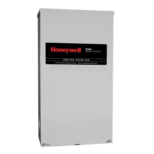Honeywell RTSM400A3 Single Phase 400 Amp/240 Volt Sync Transfer Switch, Service-Rated